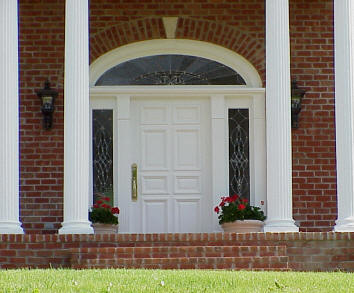 Roi home improvements replacement entry doors sales and for Colonial entry door