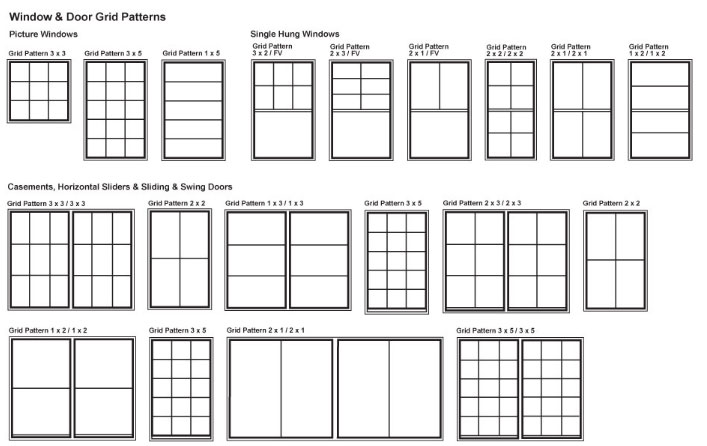 Window Grid Pattern Example 3