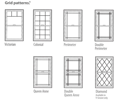 Decorating window grid styles inspiring photos gallery for New window patterns
